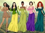 Disney Princesses - X-Girl Pt. 2
