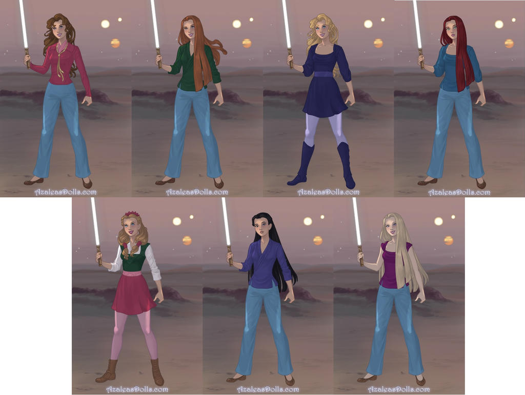 HP Girls - Sci-Fi Warrior