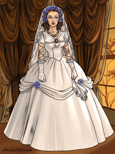 Me Wedding Dress Southern Belle By Indygirl89 On Deviantart