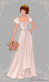 Rapunzel - Wedding Dress Design 2