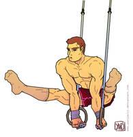 Olympic Games [male gymnast] by yarjyarj1