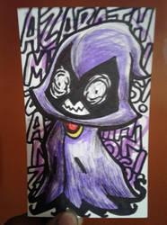 Mimikrae (Mimikyu Pokemon + Raven from TeenTitans) by trejackt