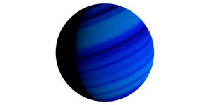 Blue Gas Giant Stock Planet