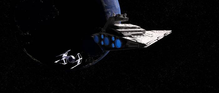 Star Wars - Imperator and Interceptor