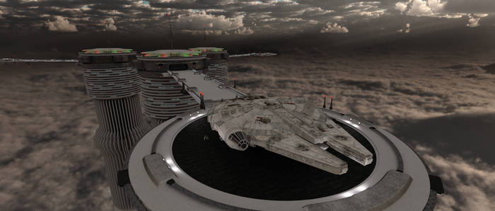 Millennium Falcon - At Trinity Towers