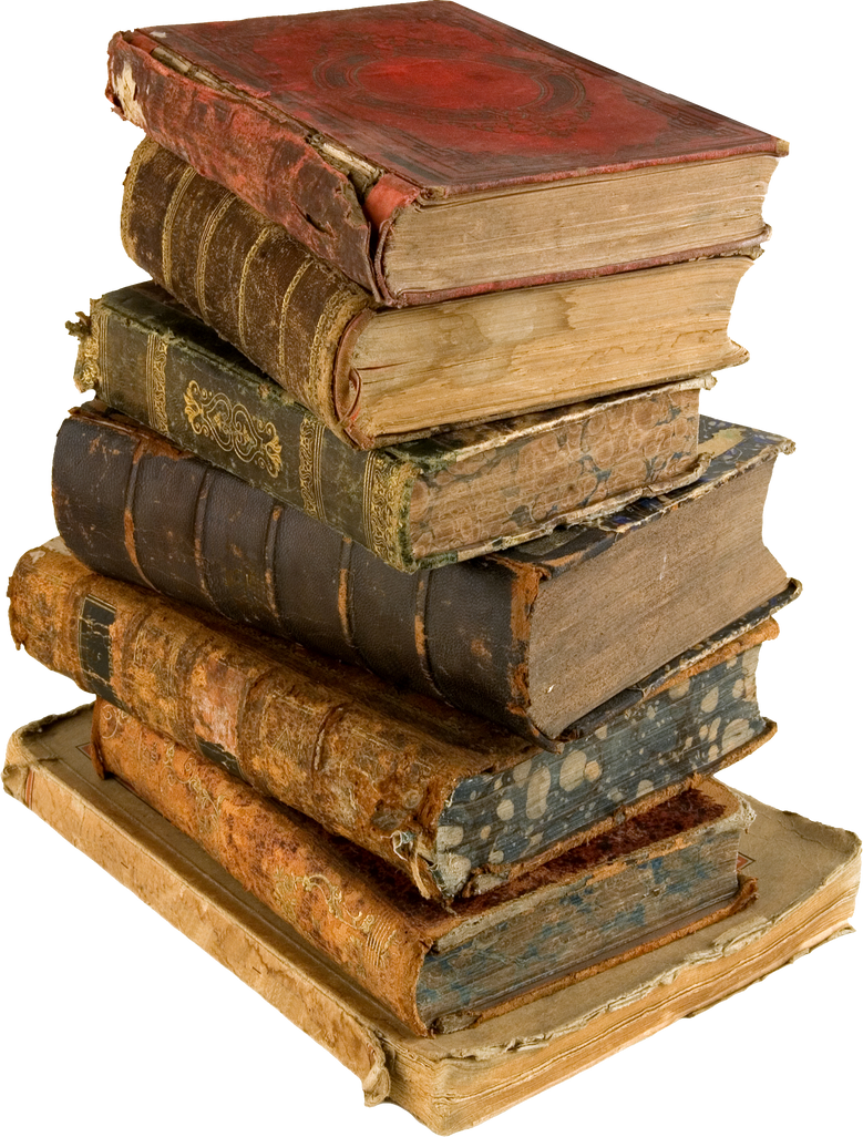 Books PNG by ViolettaLeStrange