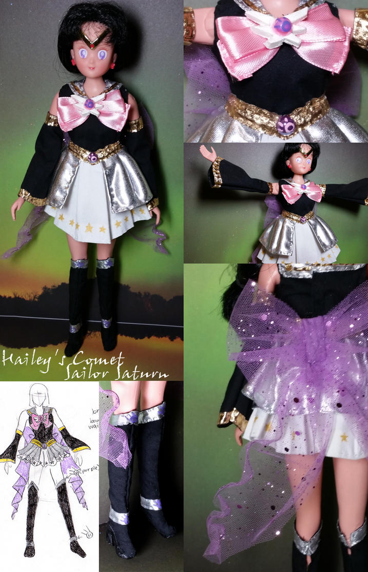 Hailey's Comet Sailor Saturn outfit commission by Leaf-nin ...