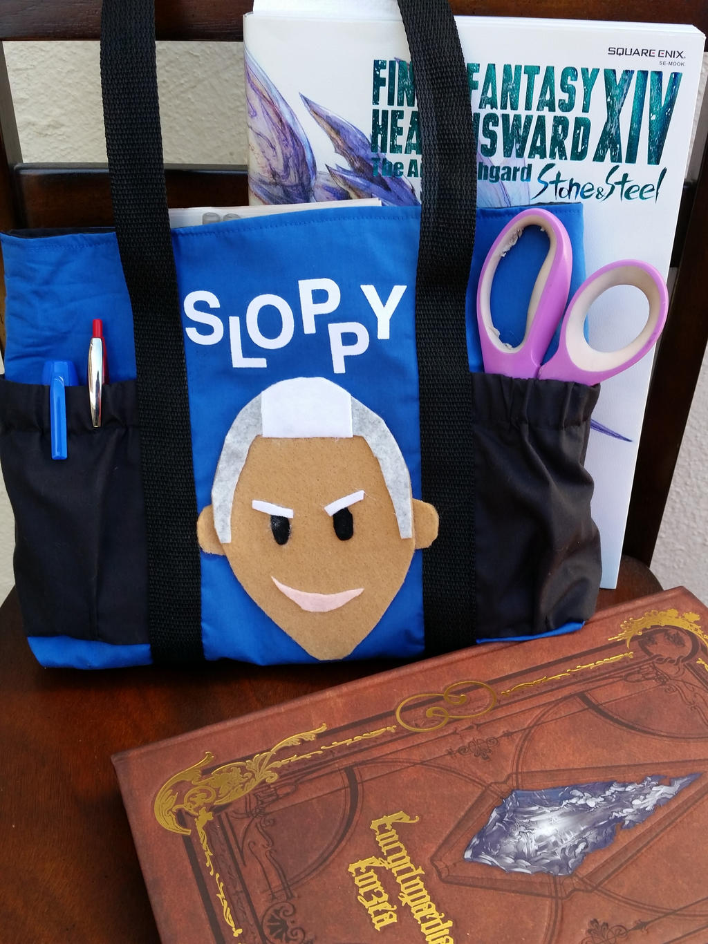FFXIV: SLOPPY! tote bag by Leaf-nin on DeviantArt