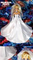 Mario: Princess Peach wedding attire by Leaf-nin