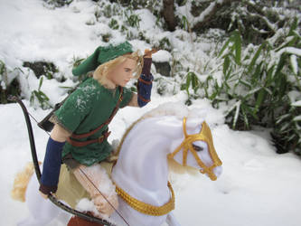 LoZ: Hunting in the snow by Leaf-nin