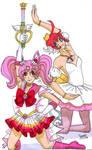 SMxTutu: Pink magic by Leaf-nin