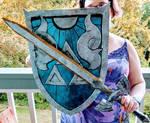 Zelda: Fighter's Shield and Master Sword lvl 2