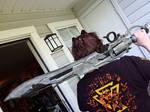 FFXIV: Thancred's gunblade by Leaf-nin