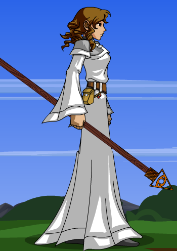 DragonFable OC: Chantel by RaindropLily