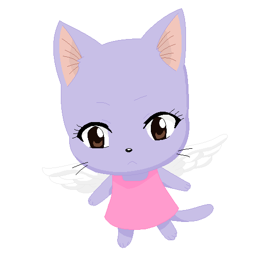 Fairy Name For A Grey And White Cat