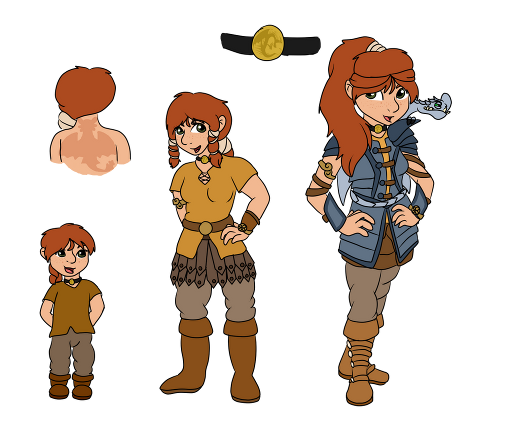 Httyd Oc Aster Minxtool By Raindroplily On Deviantart