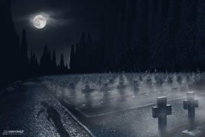 A Walk Through The Graveyard.. by PixelDazed