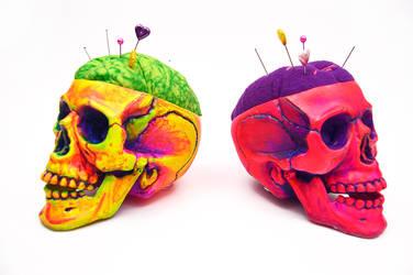 Skull mania by kriccreates