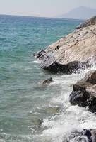 Rocks on the coast by jeannemoon