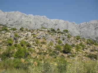 View on mountains