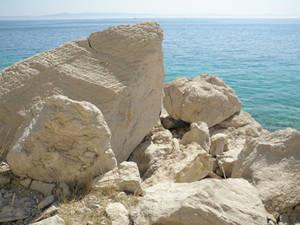 Coast with rocks
