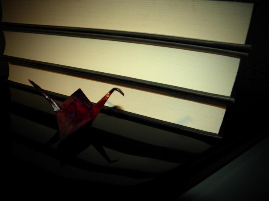 Paper crane by jeannemoon