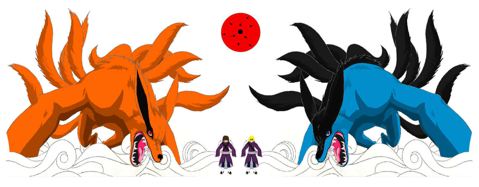 Briar and Orange Tailed Beasts by BostonFanBryer on DeviantArt