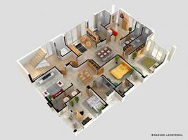 Floor plan by zubagvatic