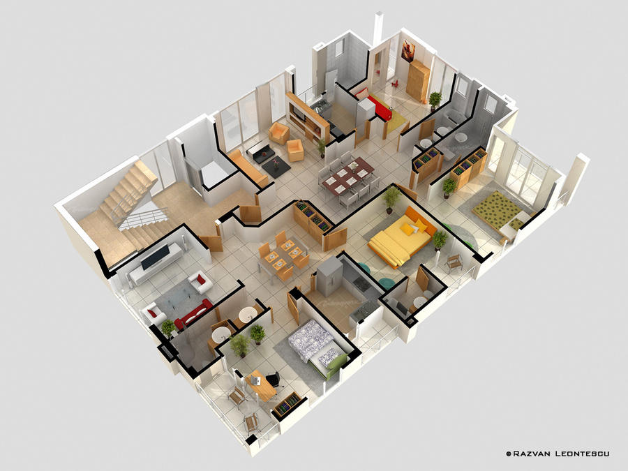Floor Plan By Zubagvatic On DeviantArt