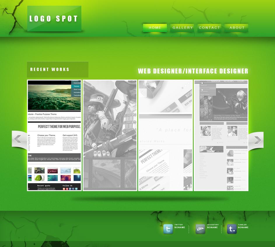Green Web Interface