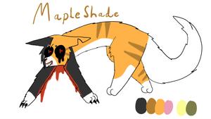 Mapleshade ref sheet