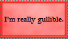 Stamp: Gullible by catloversjt