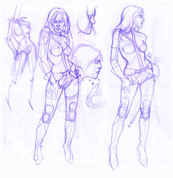 ok, ok, I dont like sketching. by theirison