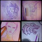 Instagram sketches