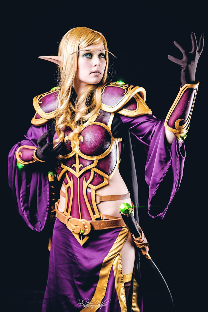 Blood Elf - Artwork by KoniCosplay