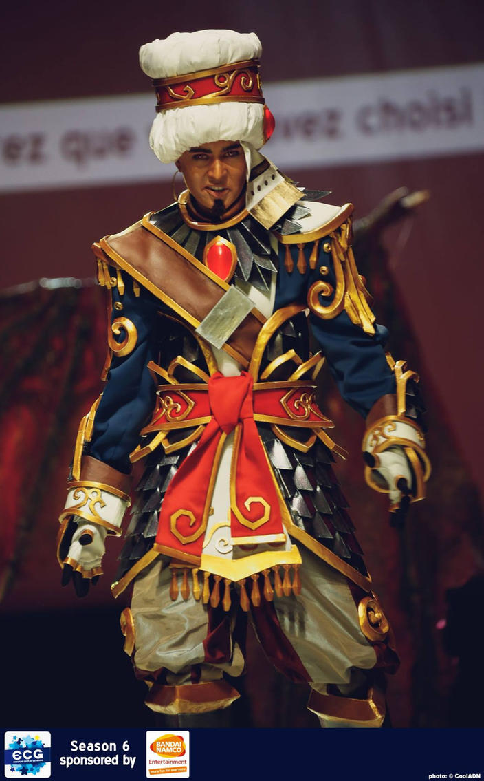 Wrathion, The Black Prince by KoniCosplay