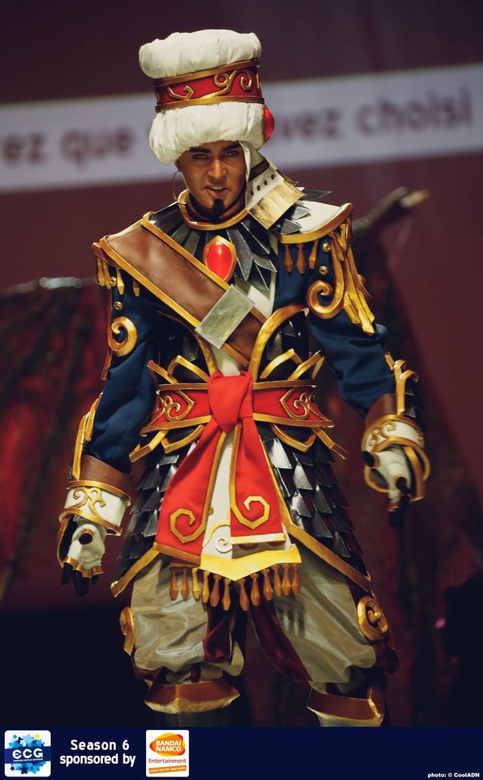 Wrathion, The Black Prince by KoniCosplay