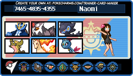 .: Naomi Trainer Card :. by thebigblackdevil5