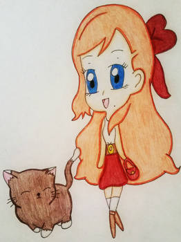 SNK: A Girl And Her Kitty Friend