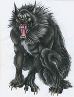 Werewolf by punxnotdead309