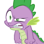 Angry Spike is angry -- VECTOR