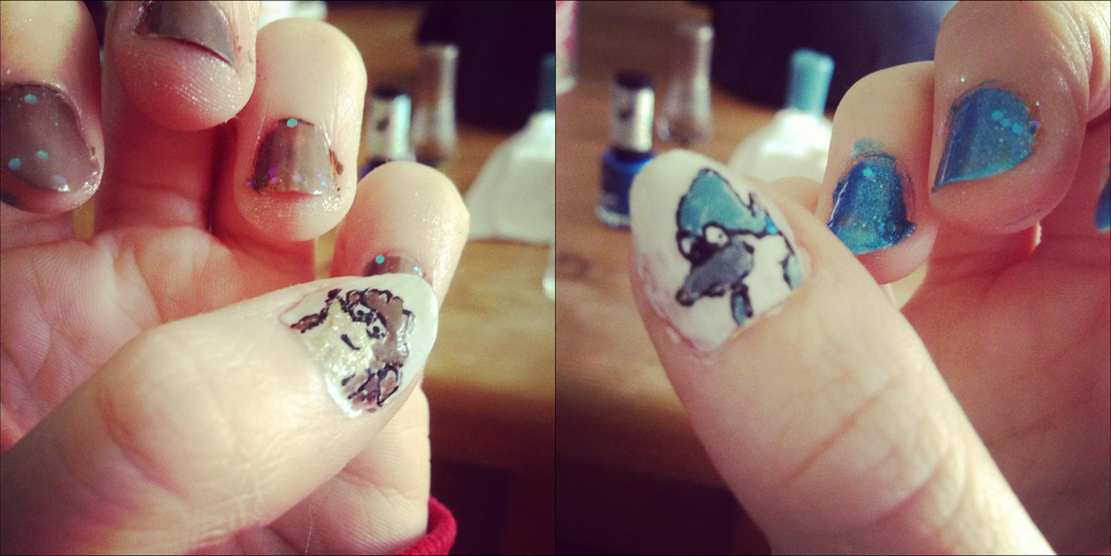 My Morby nails by Morbylover