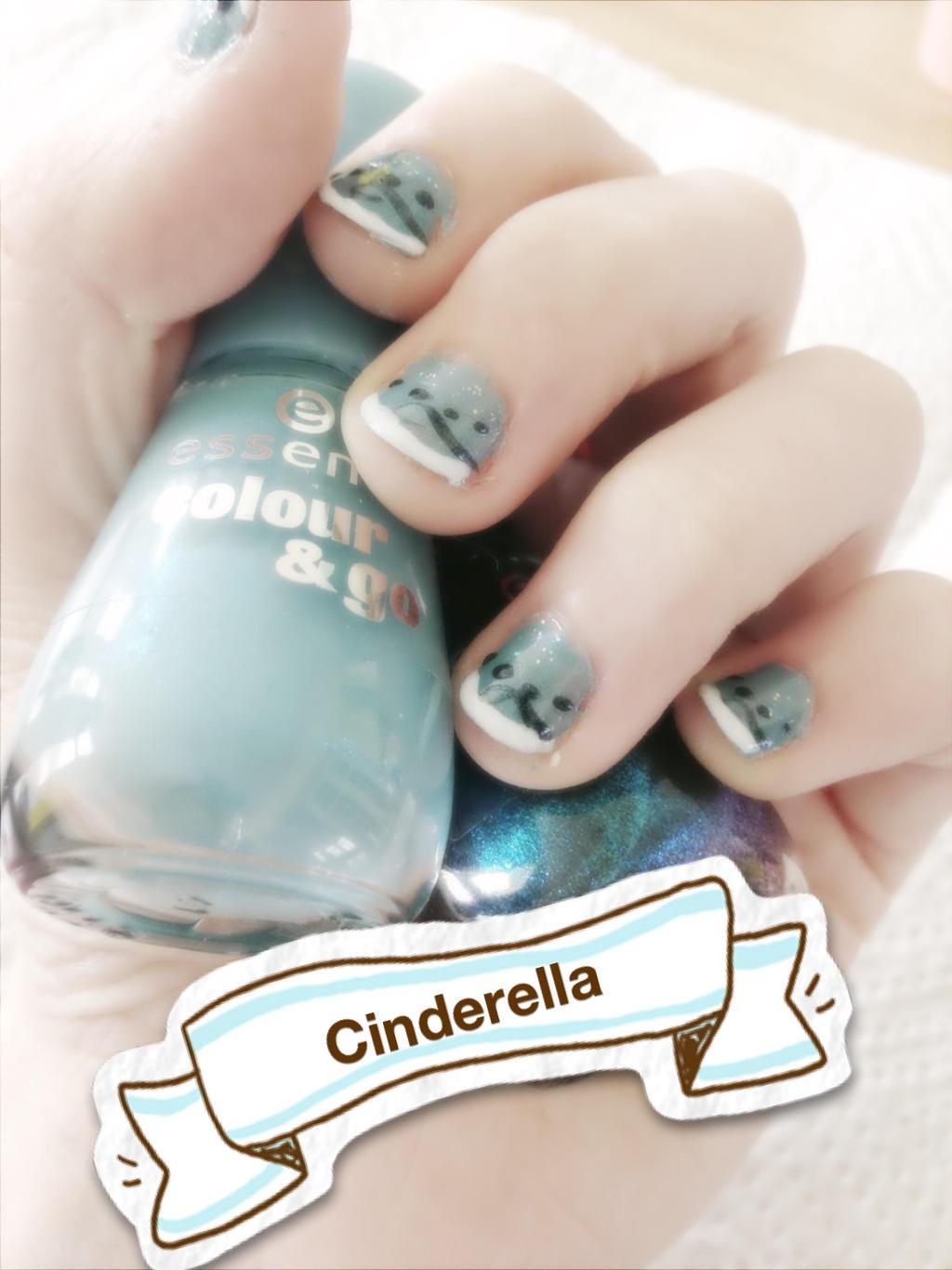 Cinderella Nail Art by Morbylover on DeviantArt