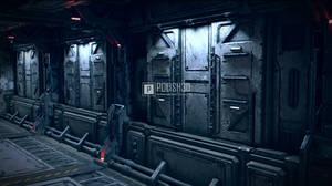 Sci-fi Corridor 02