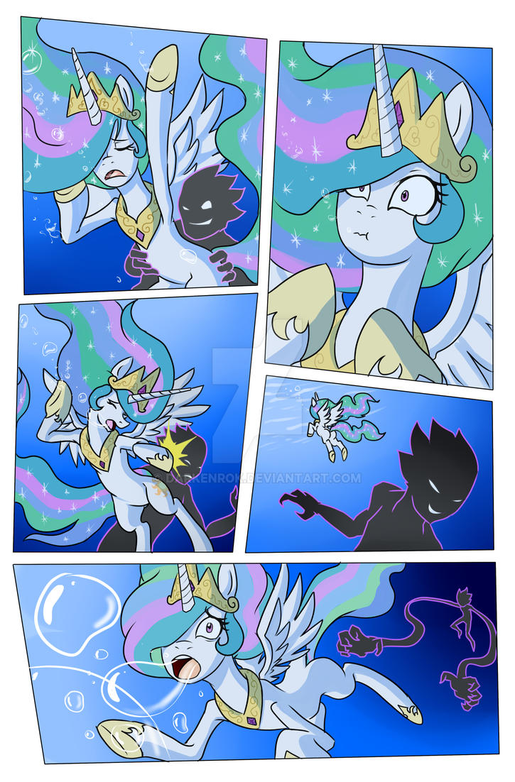Drowning is magic page 2 by Darkenrok