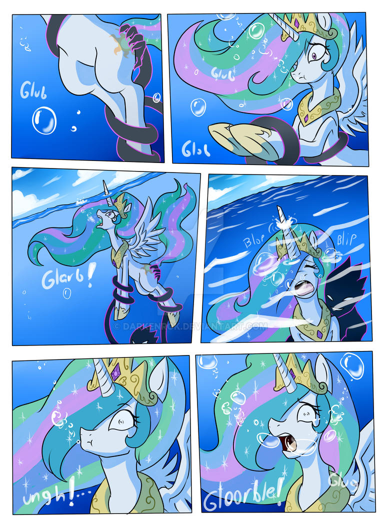 Drowning is magic page 3 by Darkenrok