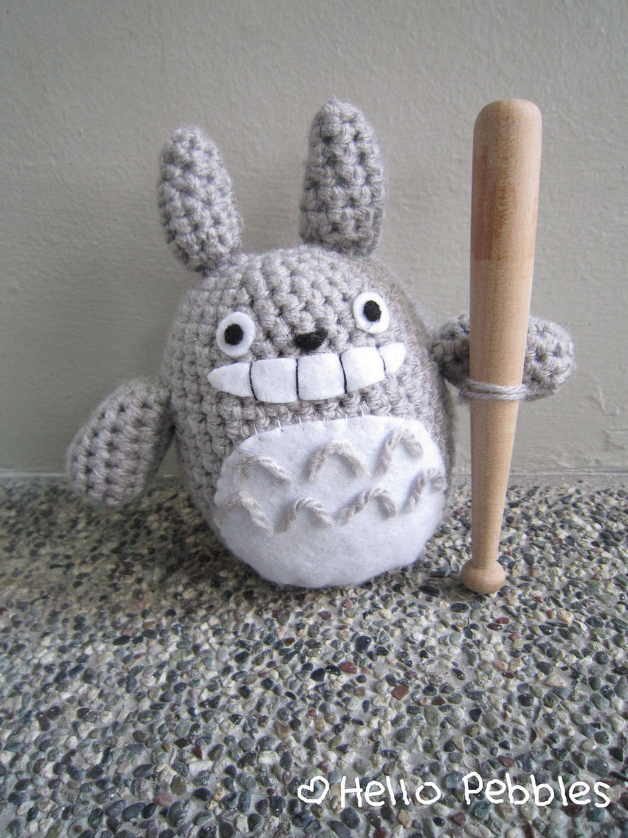 Amigurumi Totoro : Totoro Amigurumi by Hello-Pebbles on DeviantArt