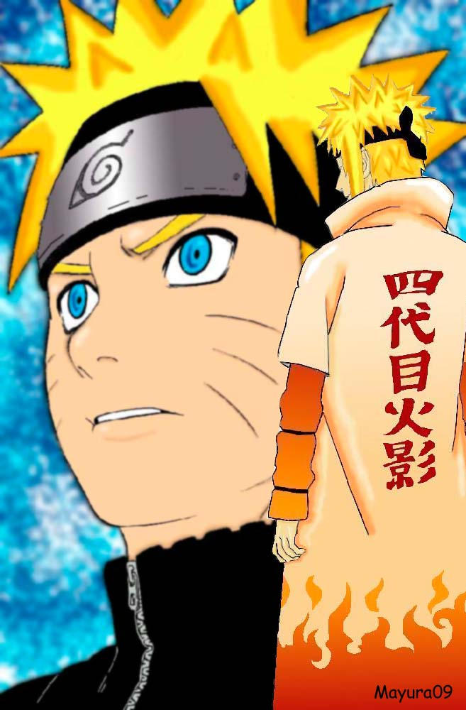 Yondaime, Naruto's father ? by mayura09
