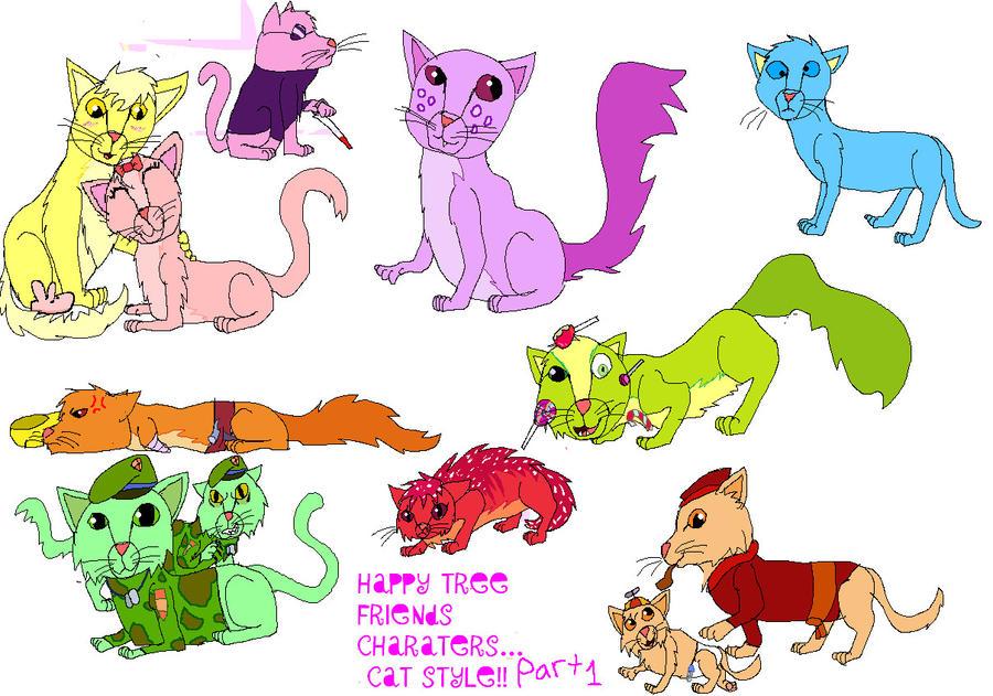 Lucky (cat) - Happy Tree Friends Fanon Wiki |Happy Tree Friends Cat