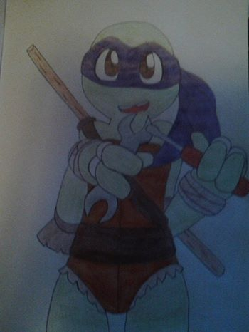 donatello: let's create!!! by grismay